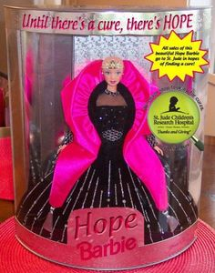 Mattel's HOPE Barbie   (Dedicated to Cancer Patients)