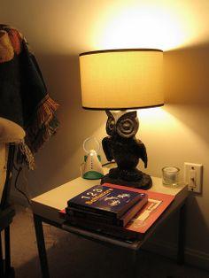 harri potter, idea, futur, harry potter nurseries, owl lamp, bedsid lamp, babi, harry potter nursery, kid