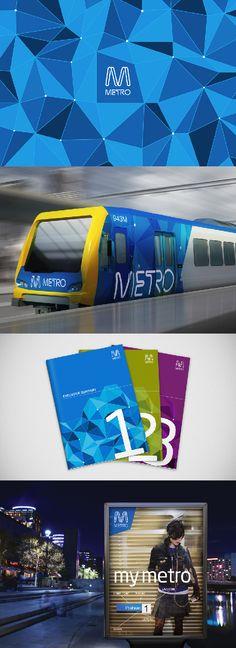 Branding of Metro by FutureBrand