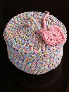 Crocheted basket for Alex