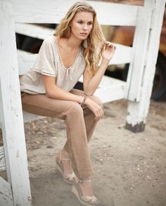 American model Keke Lindgard