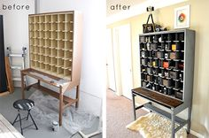 Before and After best of: cabinets and hutches.