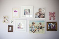 Something like this would be amazing in the boys' room.  I have too many beautiful pictures of them!