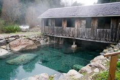 To visit the hot springs in Chile.