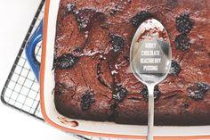 Chocolate Blackberry Pudding   The Sugar Hit