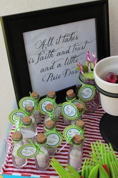 Peter Pan and Tinkerbell Party