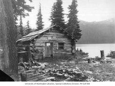 The oldest cabin in Mt Rainier National Park.