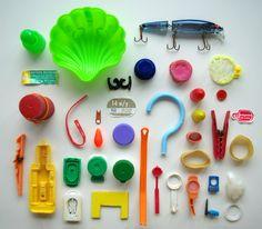 beach trash by herzensart, via Flickr