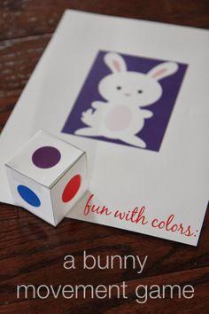 toddler approv, color, homeschool preschool, movement game
