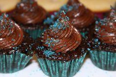 sparkle cupcake