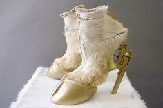 Goat gun hoof shoes