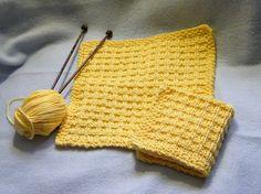 Spa Day Waffle Washcloth craft, washcloth pattern, spa day, waffl washcloth