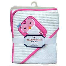 Happy Chic Baby By Jonathan Adler Applique Hooded Towel-Owl