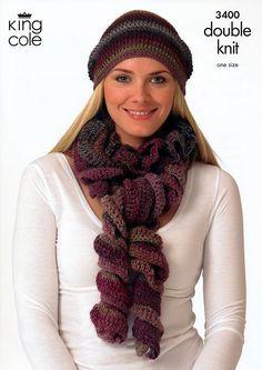 scarv crochet, hat