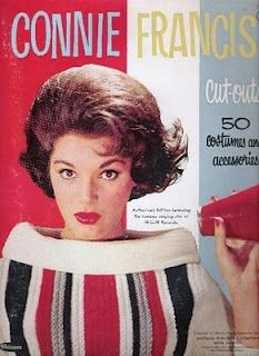 Connie Francis paper dolls.