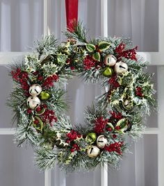 Jingle Bells Holiday Wreath