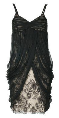 Natalia strappy layered lace dress
