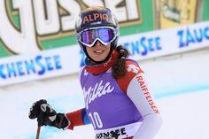 """© Gerwig Löffelholz / Das Comeback von Dominique Gisin: """"Aus der liebe Ski zu fahren"""" / www.Skiweltcup.TV / Dominique Gisin, die bloggende Skirennfahrerin aus Engelberg, die wegen einen Knieverletzung die vergangenen Saison frühzeitig abbrechen musste stellte sich den Fragen von Skiweltcup.TV."""