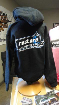 Restore a Muscle Car Black & Blue Sweatshirt: http://cgi.ebay.com/ws/eBayISAPI.dll?ViewItem=310288181766==STRK%3AMESE%3AIT