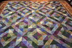 Beth's quilt by Samilou1 (Sleepy Owl Studio), via Flickr.