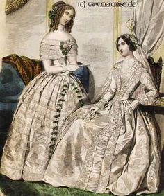 Ball Dress, Wedding Dress, Summer 1850