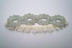 Goddess beaded garter. $77.00, via Etsy.