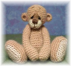 Thread Crochet Bear Pattern