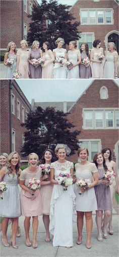 Cutie bridal party