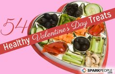 54 Sweet and Healthy Valentine's Day Treats (Many of these are perfect for kids, too!) | via @SparkPeople #food #nutrition healthi valentin, valentine treats, valentin treat, valentine day, healthi heart, food, boxes, heart healthi, healthier valentin