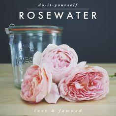 DIY // Rosewater