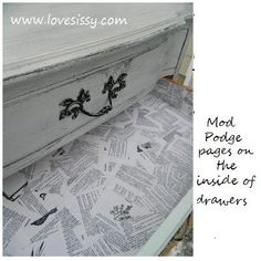 DIY:: 52+ Mod Podge Home Decor projects ! (Tutorials For Each)
