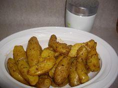 microwave potato wedges