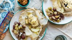 Chicken en Papillote with Roasted Grapes and Shallots - HoneysuckleCatering