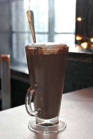 decadent hot chocolate recipe