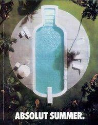 Absolut Vodka:  Summer Ad