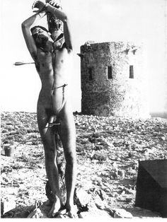 #DerekJarman #Sebastiane #1976  #SanSebastiano: Il fascino della sofferenza - #malesoulmakeup #queer #blog  #religion #art #gay #gayicon #sex #naked