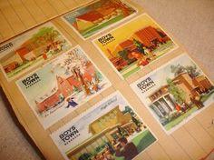 Vintage Boys Town Nebraska Stamp Book by TotallyVintage on Etsy
