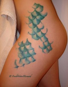 Mermaid Scales {You guys can't even understand how much I love this tattoo.}
