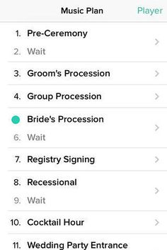 Instead of hiring a DJ or a band, get this handy wedding DJ app.   26 Ways To Save Money On Your Dream Wedding