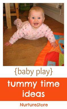 Make tummy time happy;