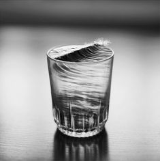 Dreamy Black and White Photo Manipulations by Silvia Grav. See several more on Colossal:  http://www.thisiscolossal.com/2013/07/dreamy-black-and-white-photo-manipulations-by-silvia-grav/ water, art photography, the ocean, photo manipulation, glass, wave, black white, storm, silvia grav