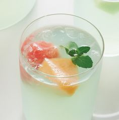 Don't throw that fruit away after you've enjoyed the pitcher of Melon Sangria Cocktails. Add it to an adults-only fruit salad or blend it into an adults-only smoothie.