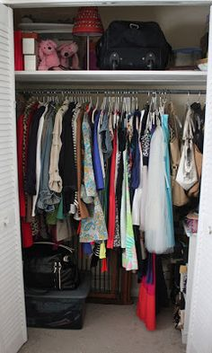 Curated Closet - links to identifying the problem, wardrobe holes, wardrobe completers, and closet organization.