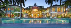 houses, home exteriors, pool, resorts, dream hous, honeymoons, place, caribbean, tropical homes