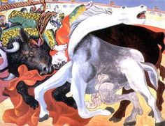 Bull Fight Death of the Torero- Picasso
