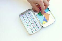 delia creat, craft, tangram puzzl, puzzles, diy travel, game, tin, magnet, kid