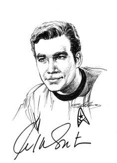 Star Trek - Captain James Kirk by Neal Adams *