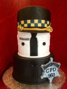 Police / sergeant promotion cake