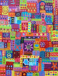 patchwork :o)  Abstract patterns in art  Thaneeya McArdle