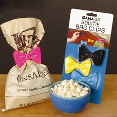 product, bag clip, chips, tie bag, bow ties, chip clip, bows, kitchen, bags